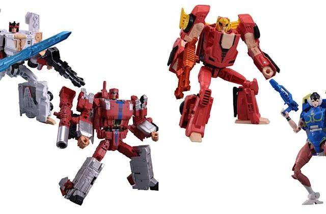 Of course there are Street Fighter-meets-Transformers toys