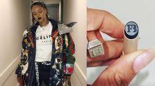Rihanna just teased a black Fenty Beauty lipstick