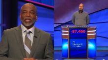 LeVar Burton's debut as 'Jeopardy!' guest host overshadowed by record for lowest score ever