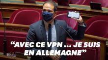 """Cédric O démontre l'inutilité de l'interdiction de l'anonymat en ligne en """"deux secondes"""""""