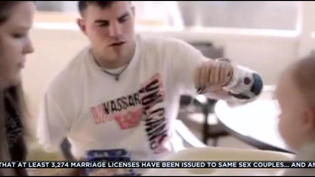 Wounded Warrior, Quadruple Amputee Travis Mills: