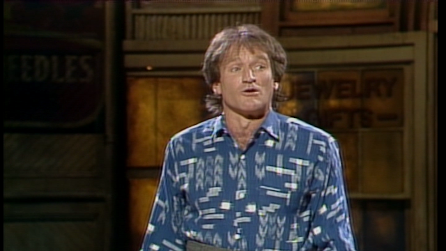 Robin Williams Monologue: Stand Up