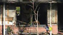 6 injured, 2 dogs killed in Merced house fire