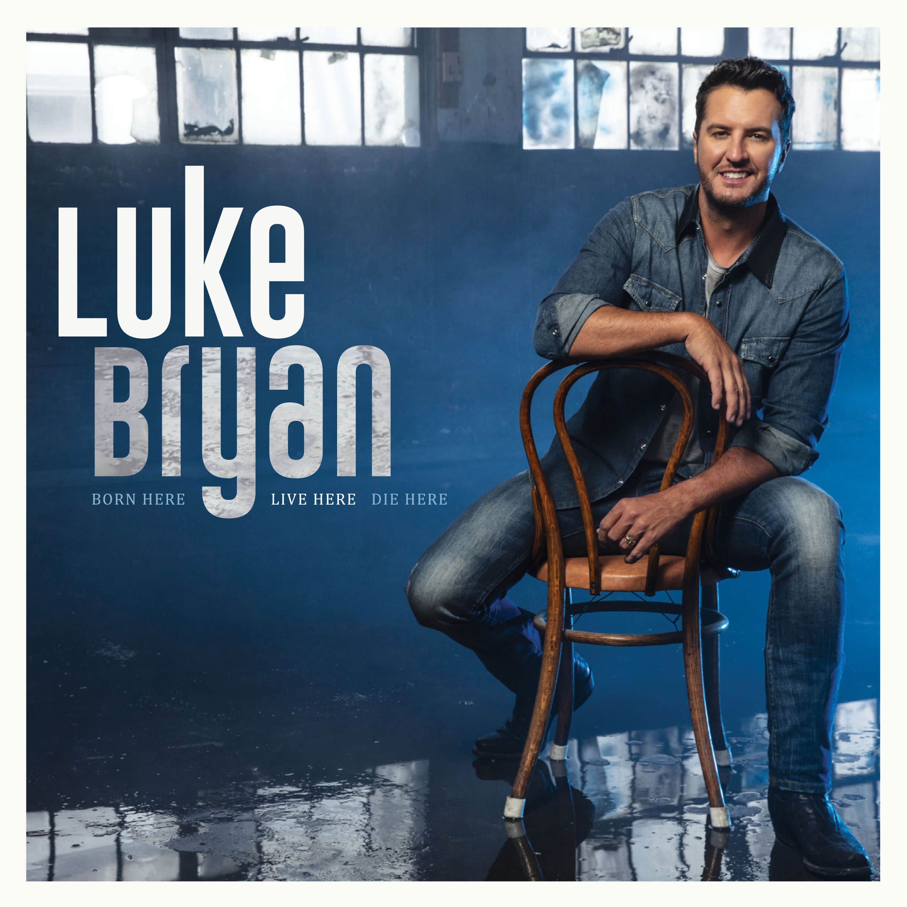 "This cover image released by Capitol Records Nashville shows ""Born Here Live Here Die Here"" by Luke Bryan, out on Friday. (Capitol Records Nashville via AP)"