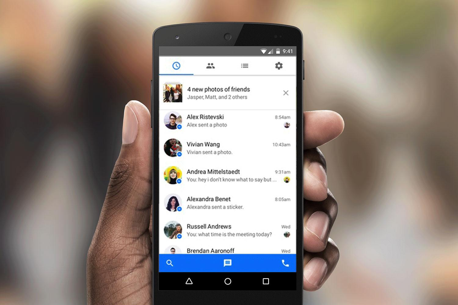 Facebook copies Snapchat stories for Messenger Day test update
