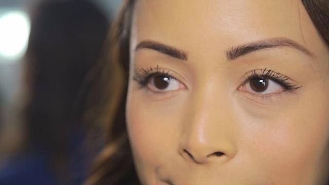 The trick to getting ultra-thick eyelashes