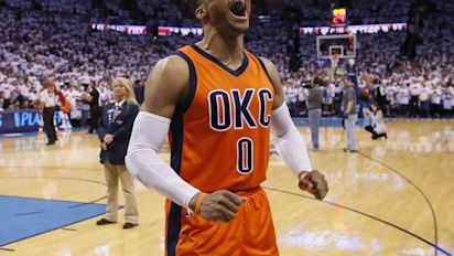 Russell Westbrook wins Most Valuable Player at 2017 NBA Awards