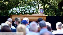 Obsèques d'Annie Cordy : l'émotion de Michèle Torr, Dave et Virginie Hocq lors de leur ultime hommage - PHOTOS