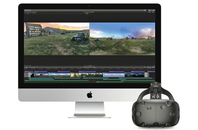 Apple Final Cut Pro X is ready to edit VR video