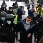 'Putin Is a Thief.' Thousands Detained by Russian Police in Nationwide Crackdown on Pro-Navalny Protests