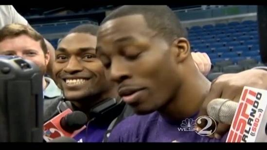 Raw video: Dwight Howard has message for Orlando fans