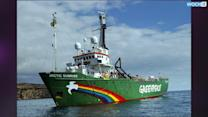 Greenpeace Sails Out To Confront Russian Tanker