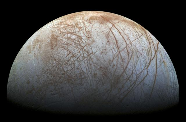 Decades-old data helps confirm Europa is geysering water into space