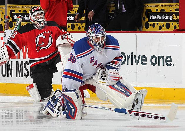Marty Brodeur Vs Henrik Lundqvist The Pad Size Wars