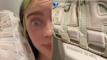 Billie Eilish's trainers are 2020's version of 'the dress'