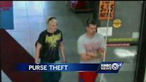 Independence PD seeks couple in connection with purse theft