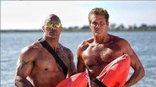 """David Hasselhoff arbeitet mit Dwayne Johnson an """"Baywatch"""""""