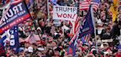 Pro-Trump supporters in Washington, D.C. (Getty)