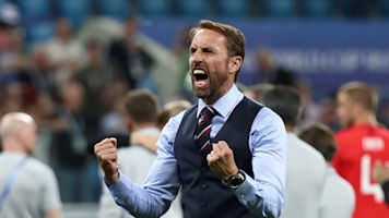 Southgate salutes together and composed England