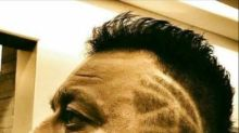 Sanjay Dutt channels the bad boy with his new creative hairstyle