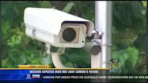 Decision expected over city's red light cameras