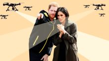 Fearful Prince Harry and Meghan Markle Report Multiple Drone Flybys to LAPD, Will Now Pay for Own Security