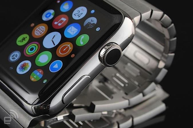 Apple Watch patent would have you sharing files with a handshake