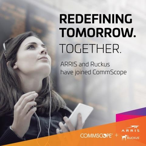 News post image: CommScope Set to Shape Communications Connectivity and Networks of the Future with Completion of ARRIS Acquisition