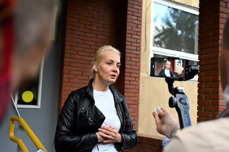 Navalny's wife Yulia Navalnaya travelled to be with her stricken husband in Siberia