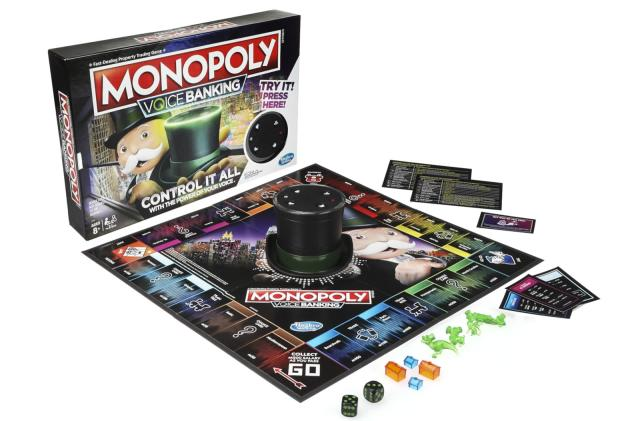 The latest version of Monopoly is voice-activated