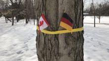 【環球趣聞】傻傻分不清 外交人員歡迎比利時國王 插錯德國旗