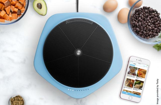 Viral cooking videos control Buzzfeed's $150 Bluetooth hot plate