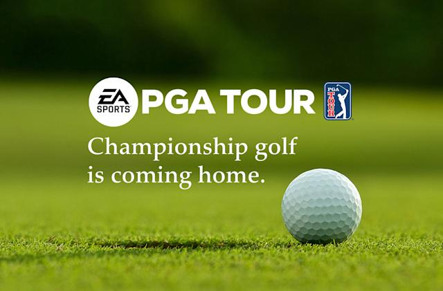 EA will return to golf games with a new PGA Tour title