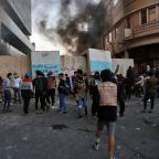 The Latest: Officials: 3 Iraqi protesters killed in Baghdad