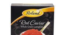 Roland Foods, LLC Initiates A Voluntary Recall Of Roland Red Lumpfish Caviar And Roland Black Lumpfish Caviar Due To Possible Health Risk