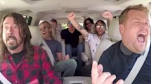 Foo Fighters: 'Carpool Karaoke' with James Corden was uncomfortable