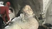 See Inside the Jabba the Hutt Puppet in Rare 'Star Wars: Return of the Jedi' Footage