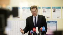 Lithuania goes to polls with center-right opposition set to win power