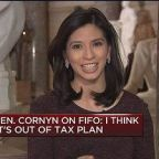 Sen Cornyn on FIFO: I think it's out of tax plan