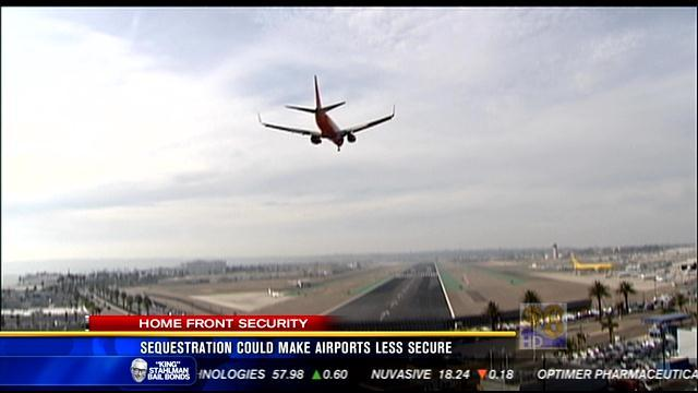 Sequestration could make airports less secure