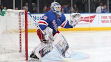 Lundqvist back on ice, 'months' away from deciding future