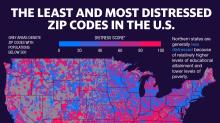 """""""Es realmente preocupante"""": Algunas zonas de Estados Unidos están atrapadas en una situación económica propia de la """"trampa 22"""""""