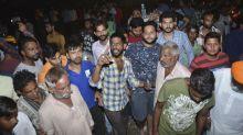 Por lo menos 50 atropellados por tren en la India