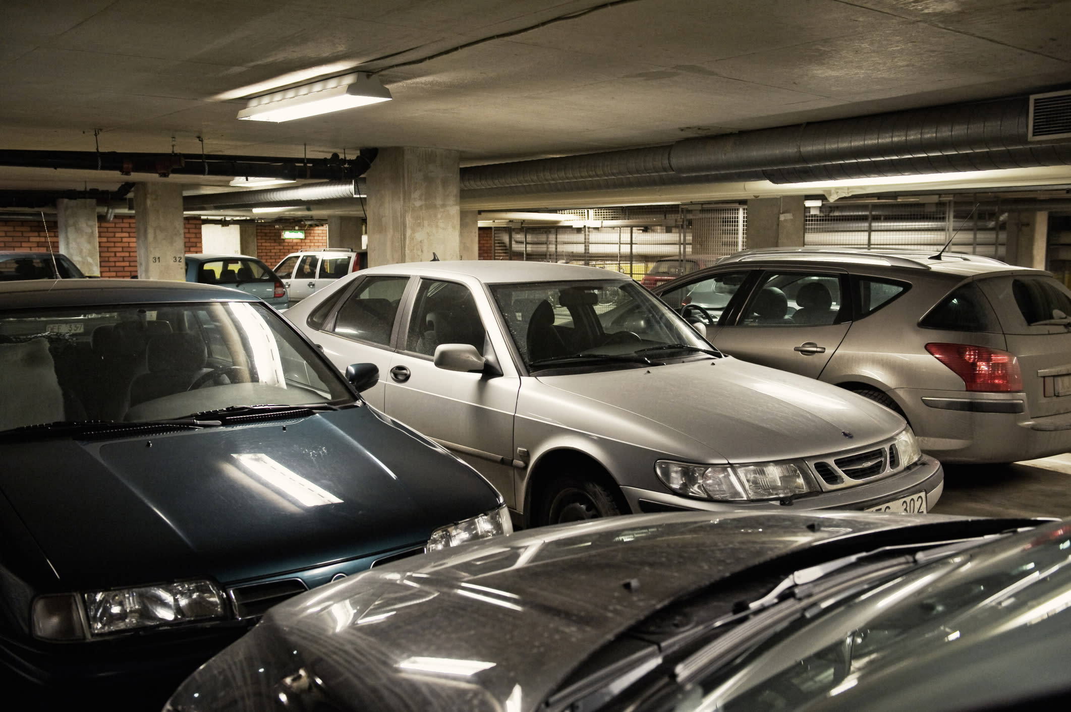 Woman stood in parking spot to save it for Garage ad nancy