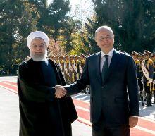 Iraq president visits Iran