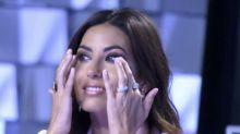 """La Gregoraci scoppia a piangere: """"Ho sofferto tanto"""""""