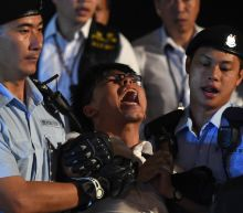 Hong Kong activist Joshua Wong detained by police