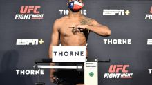 Trevin Giles faints shortly before fight vs. Kevin Holland at UFC Vegas 5, bout called off