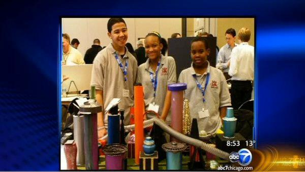 ABC7 Chicago Salutes: Future City Competition students