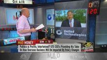 United Technologies CEO: A tit-for-tat battle on tariffs ...